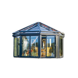 2018 new design sun room/ sunroom / glass house/ winter garden/greenhouse made in china shanghai