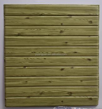 Wood Interior Wallpaper New Pe Foam Faux Brick Wall Sticker Self Adhesive Decorative
