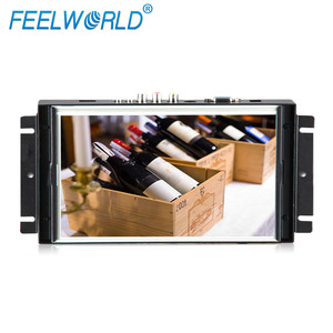 8 inch lcd touch screen 4 or 5 wire Resistive open frame tft monitor for ATM,KIOSK,Advertising,Gaming,vendor machines
