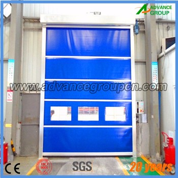 Warehouse Unloading Platform Rapid Rolling Door , Anti Dust Fast Door,automatic  Fast Shutter Door
