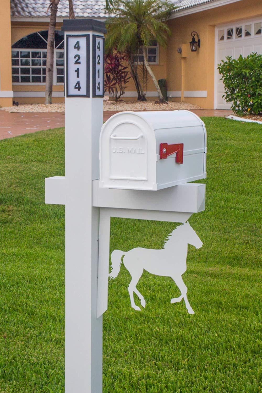 BrightLight Custom Aluminum Horse Mailbox Bracket