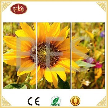 famous abstract sunflower canvas painting