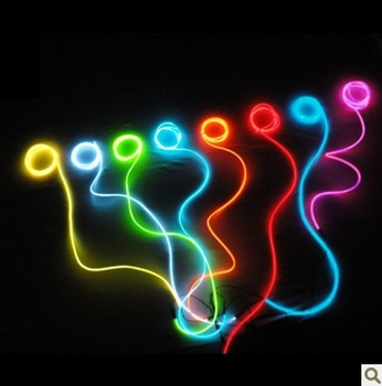 dc 12v kleurrijke neon draad led licht auto accessoires led verlichting