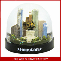 Atlanta Building Snow Globe /atlanta Cartoon Snow Globe/plastic ...