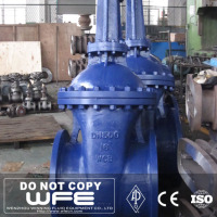 Ss304 Lug Ending Casted Wheel Handle Rising Stem Gate Valve