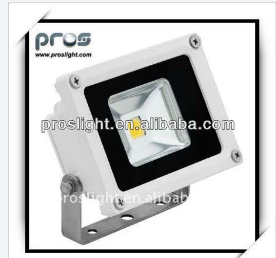 White 6000k 900lm 220vac 10w led flood light IP65 for sport field