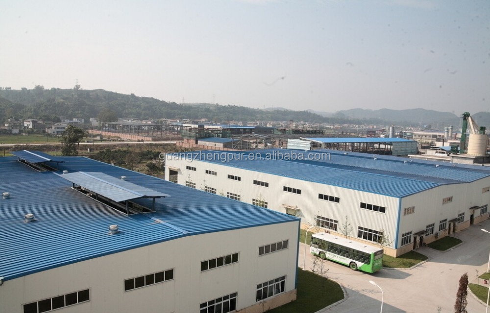 High quality turnkey steel structure for workshop warehouse