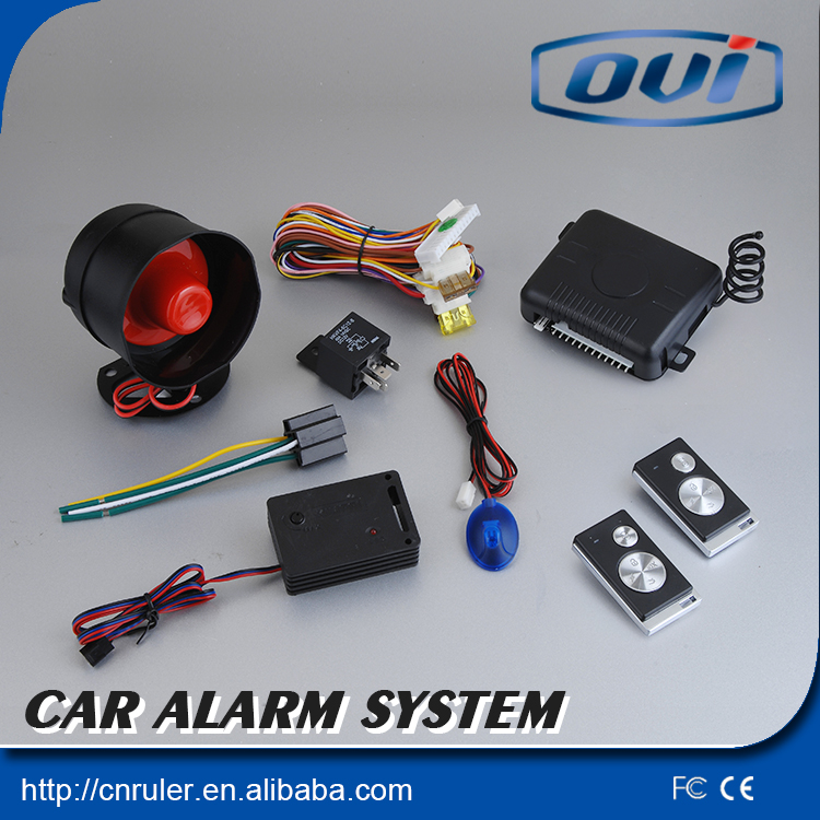 Remote Control One Way Car Alarm With Resonable Price Auto