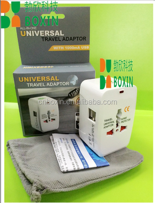Commercial Application and Plug with Socket Type 2017 Popular Universal Travel Adapter