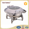 Buffet roll top chafer stainless steel cheap chafer dish for wholesale