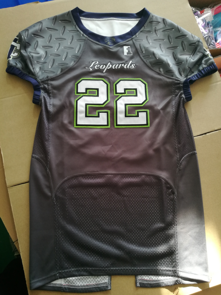 sublimation american football uniform/jersey