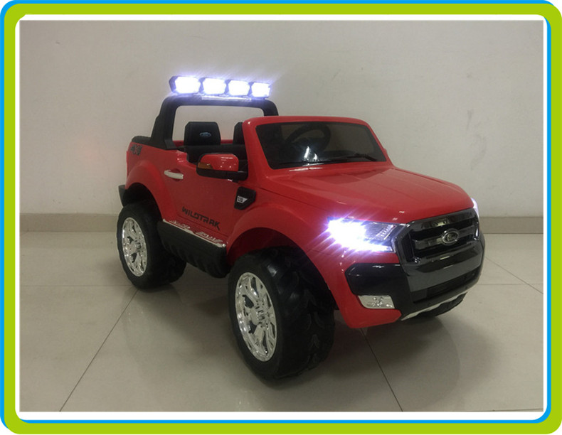 2017 new license FORD RANGER 2015 battery powered ride on children car with four motors