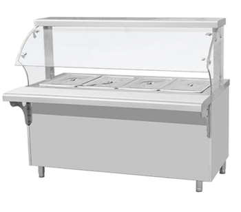 Commercial Cafeteria Equipment Curve Restaurant Buffet Equipment