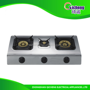 Stainless Steel Surface Material built in hob