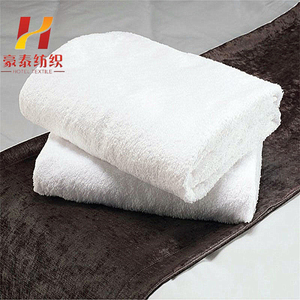 terry plain white 100% cotton hand towels cheap for wholesale