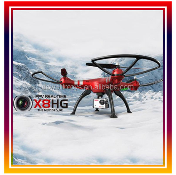 Syma X8HG RC Drone With 8MP HD Camera Altitude Hold Mode 2.4G 4CH 6Axis toy drone