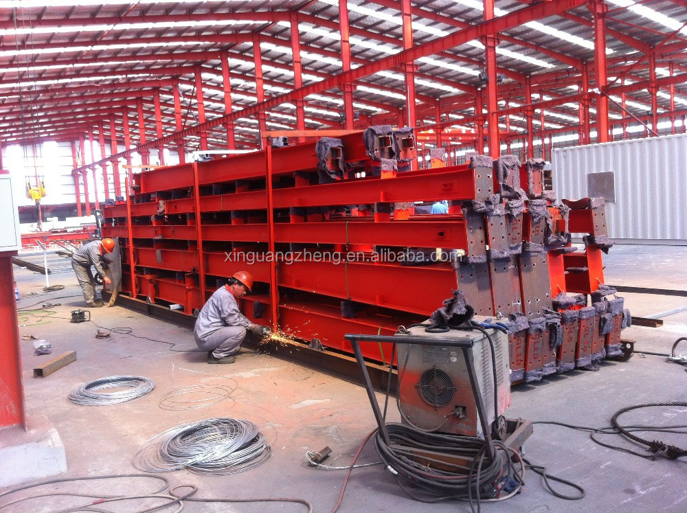 light easy installation sheet metal workshop