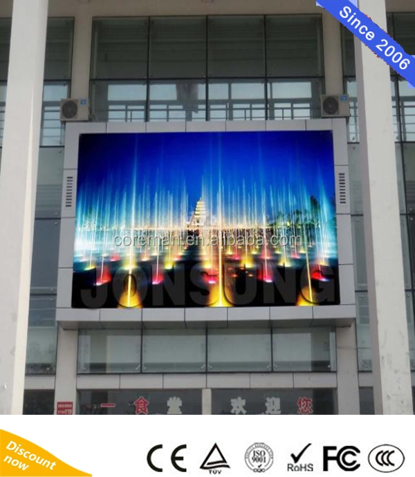 Outdoor P10 P8 P6 Video Wall Price front service / indoor Big full color P10 Xxx Photos Led Screen display