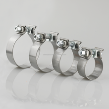 304 stainless steel high quality exhaust clamp