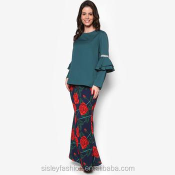 2016 Latest Fashion Lace Design Baju Kurung China Supply Baju Kurung Malaysia S20472 Buy Baju
