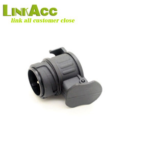 LKCL767 13 PIN male to 7 PIN large round female trailer adapter