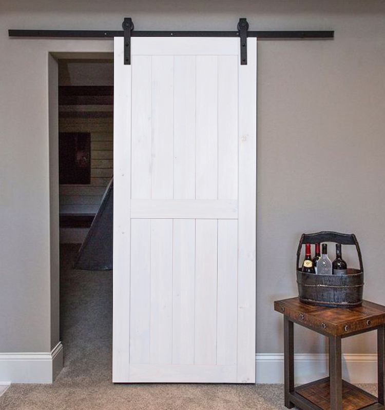Classic Barn Doors Match With Usa Standard Lock For Hotel Bedroom Sliding Door System With Flat Tract Buy Classic Barn Doors Match With Usa Standard Sliding Door System With Flat Tract Barn Door