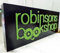 Led board advertising outdoor lights signage
