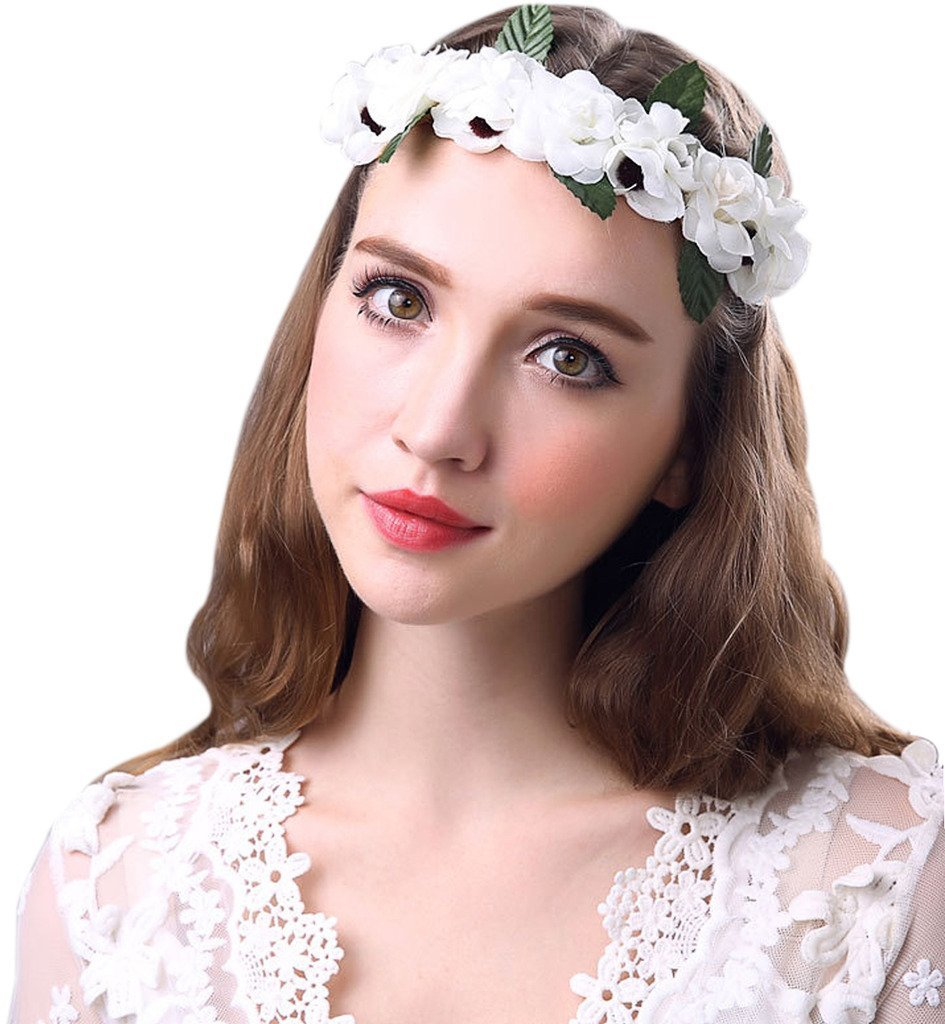 Buy sumolux white gardenia flower crown for wedding festivals in sumolux white gardenia flower crown for wedding festivals izmirmasajfo