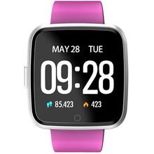 Bluetooth Smartwatch Y7 монитор сердечного ритма и артериального давления BT4.0 водонепроницаемые Смарт-часы для мужчин и женщин Android IOS смартфоны(Китай)