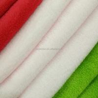 super soft short plush velvet fabric in two side