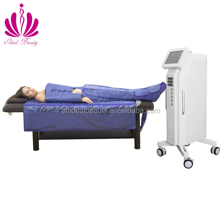 3 in 1 pressotherapy slimming machine with far infrared and EMS (S033)