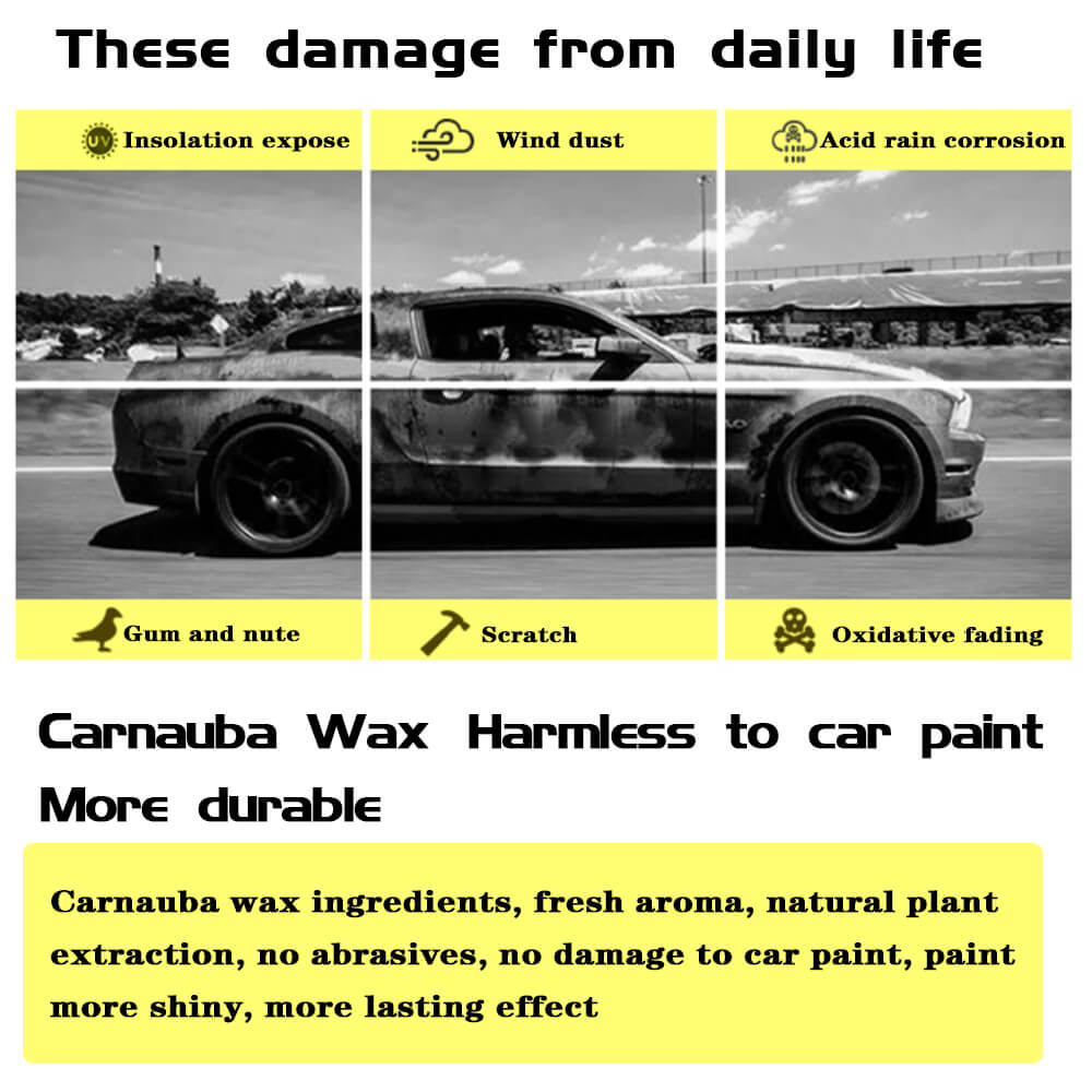 carnauba hard soft super valeting vehicle compound easy show liquid color good black wash cleaning auto detailing polish car wax