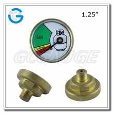 High quality customized dial pressure gauge for LPG gas home tanks