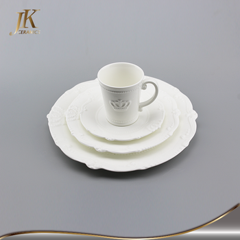 Best dinner set classic dinner set portugal dinner plate white embossed dinnerware : best dinner plate sets - pezcame.com