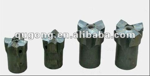 bit dia 32-127 mm cross rock drill bits / single chisel and button drilling bits / high air pressure drill bit