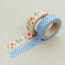 NEW! Scrapbooking Party Beautiful Rose colors of patterns dots, heart and arrow Gold foil washy tape