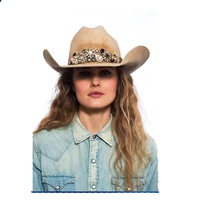 2017 new design fashion high quality nepal wool hat wholesale mexican cowboy wool felt hat hard hat