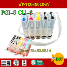 CISS for PGI5 CLI8 ,pgi-5 cli-8 ciss suit for Canon  IP4200 IP4500 IP4300 ,5 color, Empty ciss without ink ,with ARC chip
