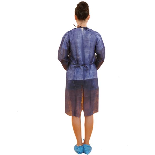 Cheap disposable medical patient non woven gown