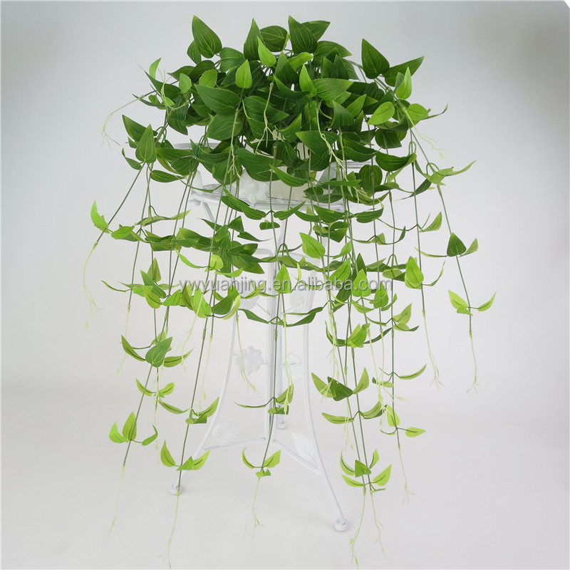 96cm fake flower simulation flower wall hanging rattan simulation honeysuckle leaves