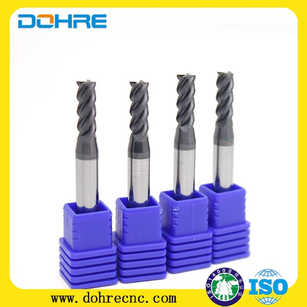 metal cutting 4 square carbide endmill china