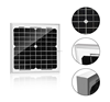 solar module monocrystalline 10 watt panels solares without frame and Junction Box