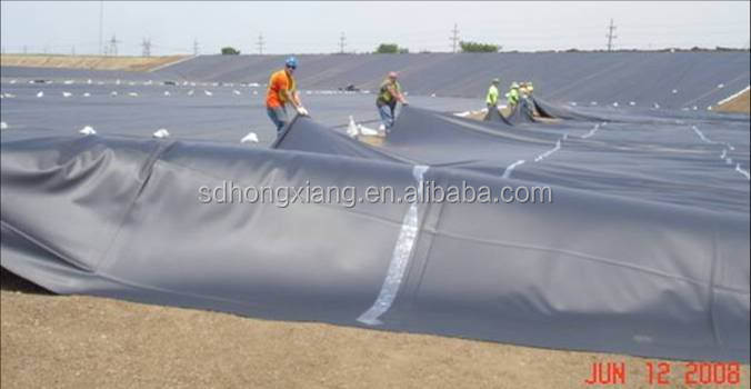 Cheap iso astm fish farm pond liner landfill hdpe for Cheap pond liner