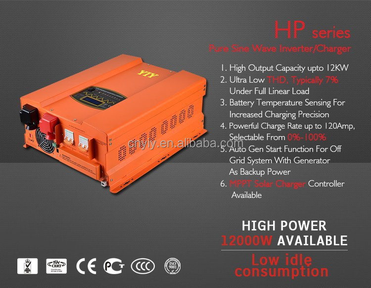 YIY 하이브리드 solar power inverter 2kw 3kw 4kw 5kw 10kw \ % off grid tie combined 와 MPPT solar charge controller