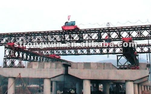 promotion 100T trussed type bridge launching girder from China crane hometown