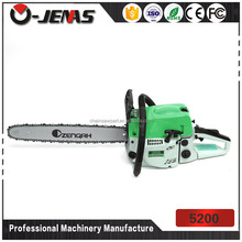 Wooden cutting machine 5200 manual gasoline chain saw