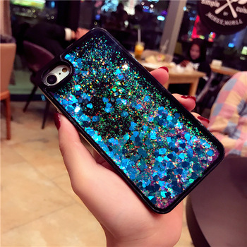220bf20b64 Liquid glitter case For iPhone 6/6s Plus Soft Tpu PC Combo Case For iPhone