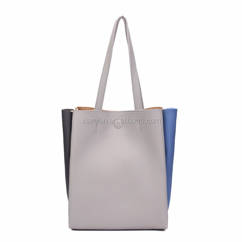 hot new arrived autumn winter lady <strong>tote</strong> bag patchwork <strong>totes</strong> (XJNB0911)