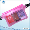 High quality custom clear pvc waterproof waist pack dry bag beach waterproof waist bag