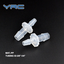"1/4 ""~ 1/8"" plastic water verminderen plastic air tube fittings"